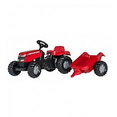 Rolly Toys Massey Ferguson Tractor and Trailer 012305 Germany