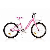 Dino Bikes bicycle for girls pink 20 204R
