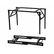 Folding metal frame for tables 116x66 cm