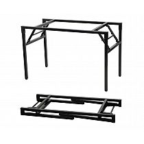 Folding table and desk frame 136x66 cm