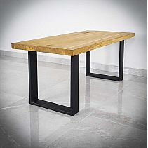 Table leg KVADRO 40x45cm black matt