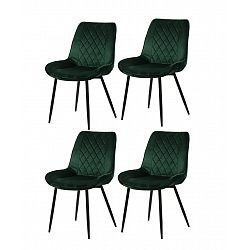 Restaurant chairs 4 pcs. moss green (6020)