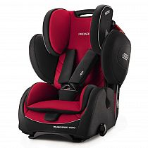RECARO autokrēsls Young Sport Hero Racing Red