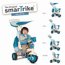 Smart Trike zils trīsritenis Splash